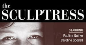 Publicity for The Sculptress for the BBC