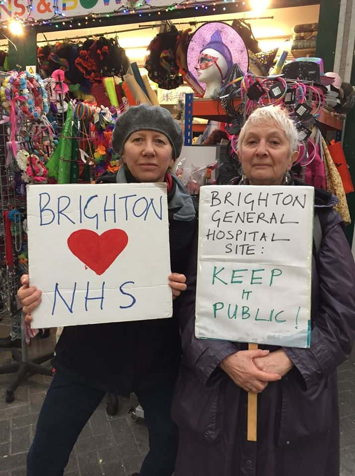 Save the Brighton General Hospital Protestors